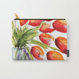 Tulips Overflowing Carry-All Pouch