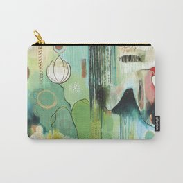 """""""Fly Home"""" Original Painting by Flora Bowley Carry-All Pouch"""