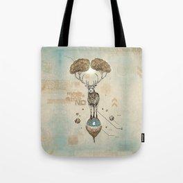 Asteroid Brain Diagnostics // (metaphysical deer) Tote Bag