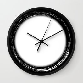Circle Copy Space Wall Clock