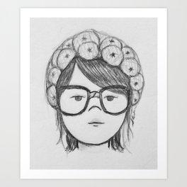 Kayla Bean Art Print
