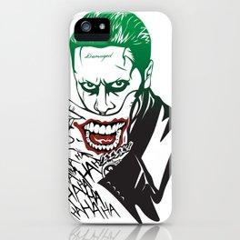 Joker_Jared Leto_Suicide Squad iPhone Case