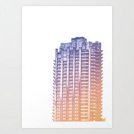 Barbican London Art Print