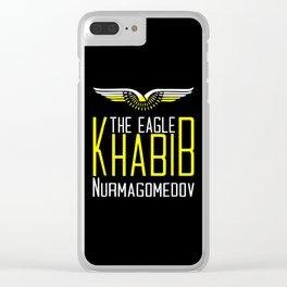 Khabib Time The Eagle Clear iPhone Case