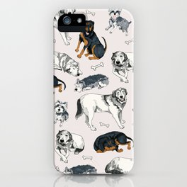 Sweetie, Lumi, and Saunders iPhone Case