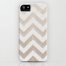 NUDE CHEVRON iPhone (5, 5s) Slim Case