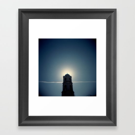 Bell Tower Framed Art Print