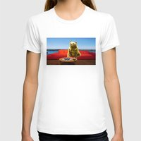 bleach T-shirts featuring Bleach Blonde Bear by Bemular