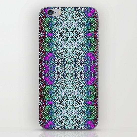 Lavender and Teal iPhone & iPod Skin