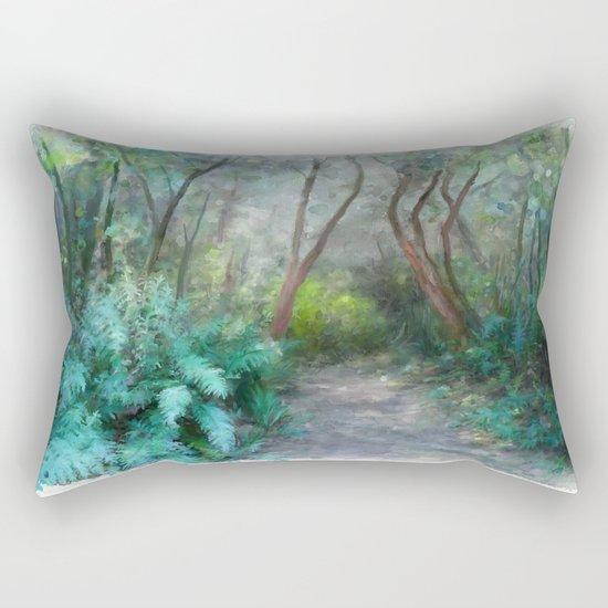 In the Bush Rectangular Pillow