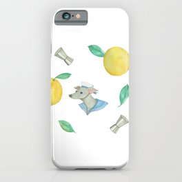 Salty Dog _pink iPhone Case