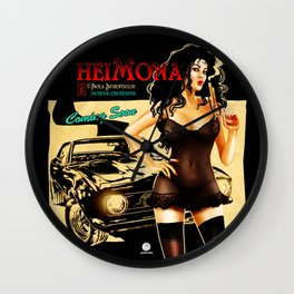HEIMONA - Poster -1 Wall Clock
