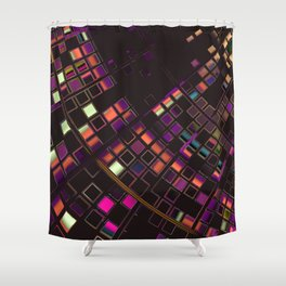 Abstract 346 Shower Curtain
