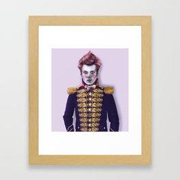 Cirque_Prince Framed Art Print