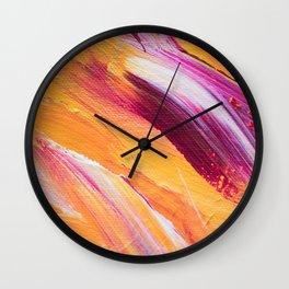 Artistic moment Wall Clock