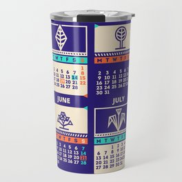 Calendar 2015 / Geometric Nature Travel Mug