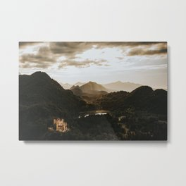 Hohenschwangau castle in Germany Metal Print