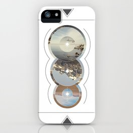Crop Circle iPhone Case