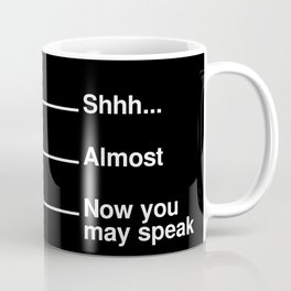 Coffee Measuring Mug (Black) Coffee Mug