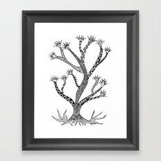 Alluring Tree Framed Art Print