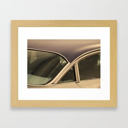 Leather jackets and fuzzy dashboards Framed Art Print