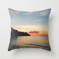 Disappear and hide Throw Pillow