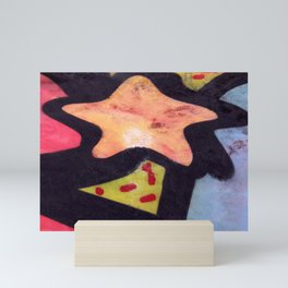 Skatepark Star Mini Art Print