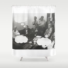 What Were You Thinking? 6 Shower Curtain