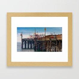 Balboa Pier 2 Framed Art Print