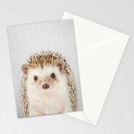 Hedgehog - Colorful Stationery Cards