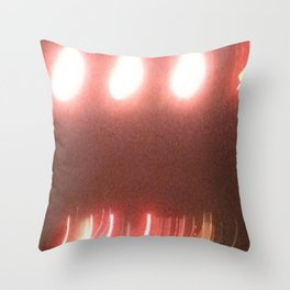 Abstracte Light Art in the Dark 20 Throw Pillow