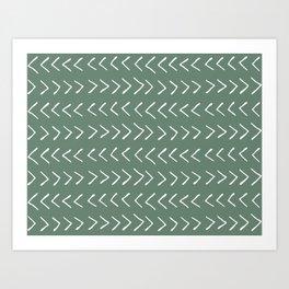 Arrows on Laurel Art Print