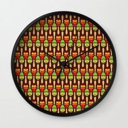 Musical Shaker Wall Clock