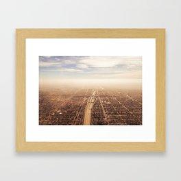 The Highway Framed Art Print