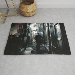 Dark Alley in Tokyo Rug
