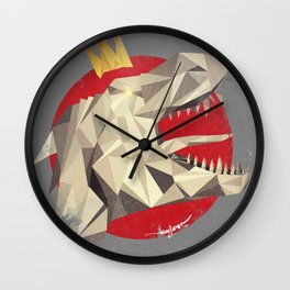 GodzillaSaurus-Rex Wall Clock