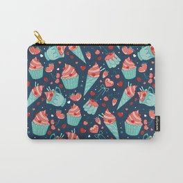 Valentine's sweets - Blue Carry-All Pouch