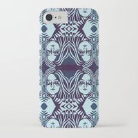 sister iPhone & iPod Cases featuring sister, sister by Prints & Needles