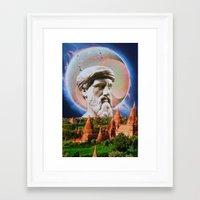 philosophy Framed Art Prints featuring Philosophy by John Turck