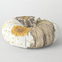 Goat Floor Pillow
