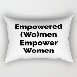 Empowered (Wo)men Empower Women Rectangular Pillow
