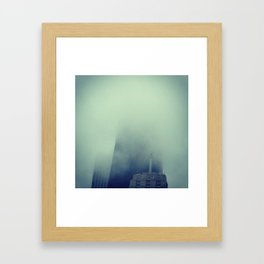 Cloudscrapers Framed Art Print
