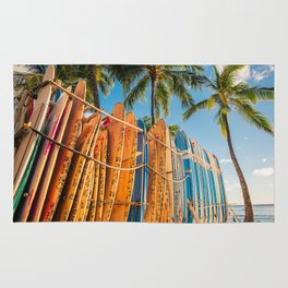 Rent a surfboard? Or just put this photo on your wall Rug