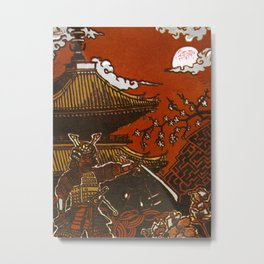 Essence: Samurai Metal Print