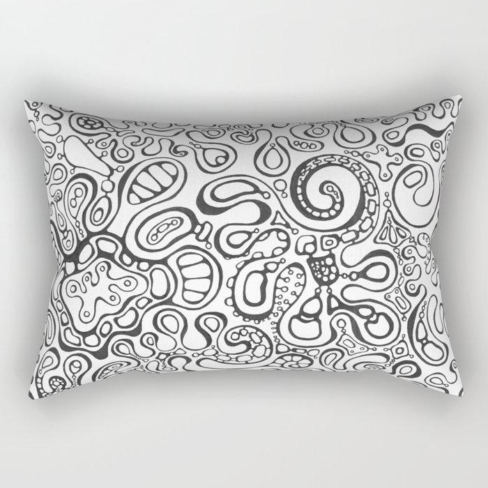 Curves Rectangular Pillow