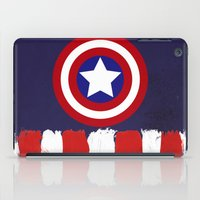 "steve rogers iPad Cases featuring Captain ""Steve Rogers"" America by Some_Designs"