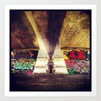 graffiti Art Prints featuring 'GRAFFITI' by Dwayne Brown