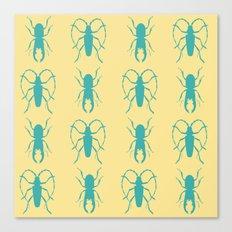 Beetle Grid V2 Canvas Print