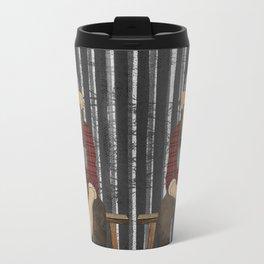 Sockmonkey Lumberjack Travel Mug