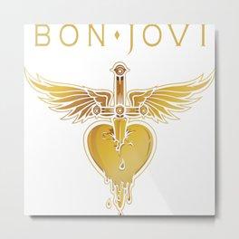 BON JOVI 01 Metal Print